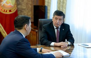 Kyrgyzstan's President reported on measures taken to combat corruption