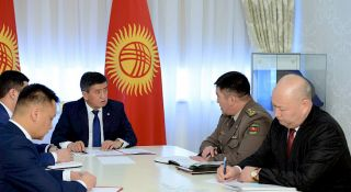 Jeenbekov orders to accelerate work on border delimitation with Uzbekistan and Tajikistan