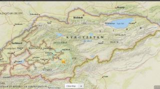 Earthquake of 6.4 magnitude occurs in southern Kyrgyzstan