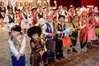 Children's dance festival takes place in Bishkek