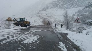 Avalanche-hit Bishkek—Osh road opens for traffic