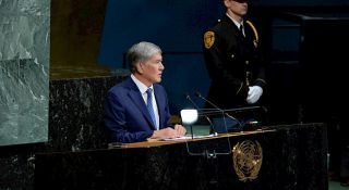 International organizations, including the UN, recognize Kyrgyzstan as one of the most free and stable states- Atambayev
