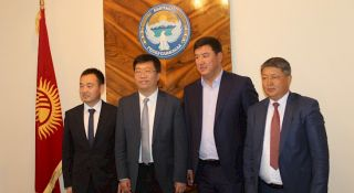 Delegation from the Kyzyl-Suu Autonomous Region of China visits Jalal-Abad