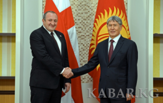 Presidents of Kyrgyzstan and Georgia expressed readiness to develop cooperation in trade, economic and cultural spheres