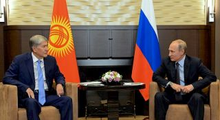 Atambayev hopes to raise level of relations between Kyrgyzstan and Russia even higher