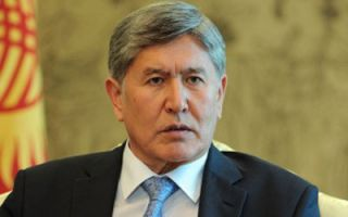 President Atambayev instructs border agency to take all measures to ensure full protection of state border