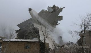 Turkish cargo plane Boeing 747 crashes in Kyrgyzstan killing dozens