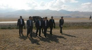 Construction of logistics center in Naryn will create jobs for local residents - Isakov