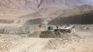 Construction of Kok-Tash-Aksai-Tamdyk road to finish in a month