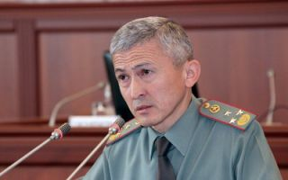 Zamir Suyerkulov dismissed from his post of First Deputy Defense Minister