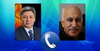 Foreign Ministers of Kyrgyzstan and India held telephone conversation