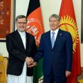 Atambayev meets with Vice President of Afghanistan Mohammad Sarvar Danish
