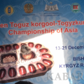 Kyrgyzstani Kuban Sazayev wins gold medal at the Open Toguz korgool Championship of Asia