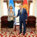 Kyrgyz FM and UN Assistant Secretary General discuss topical issues of cooperation