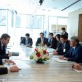 Atambayev and Vice President of General Electric discussed the expansion of cooperation in the field of energy