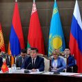 "Sooronbay Zheenbekov: ""Together we must achieve equal access to the common market of the EEU"""